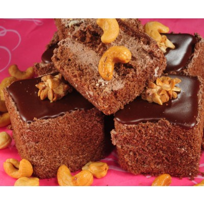 Chocolate Cube Pastry