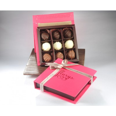 9 pc Chocolate Truffle box