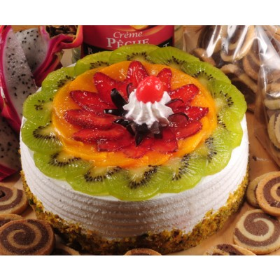 Fresh Fruit Cake(Eggless)