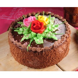 Chocolate Butter Cream Cake (Eggless)