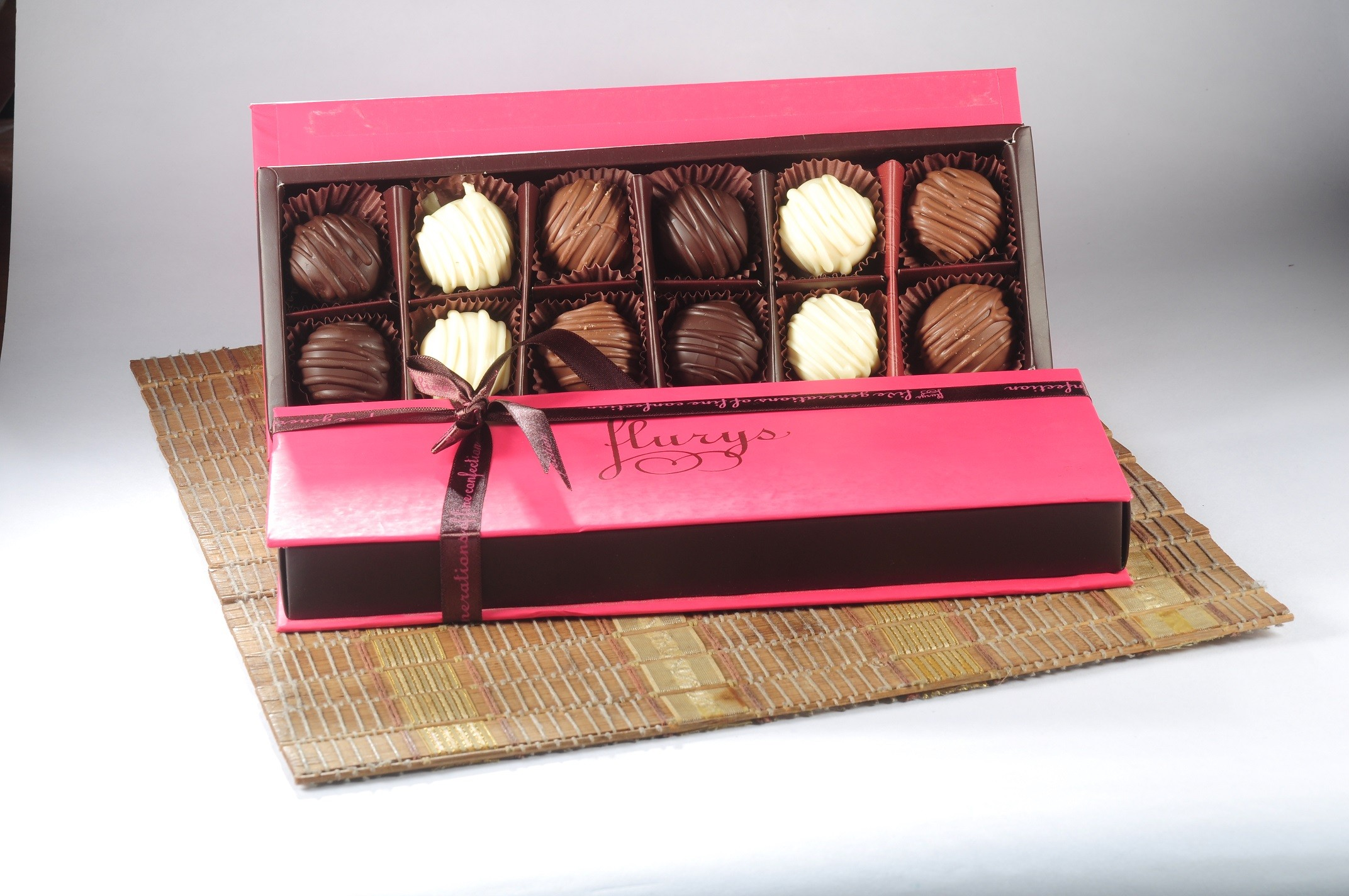 12 pc  Chocolate truffle box
