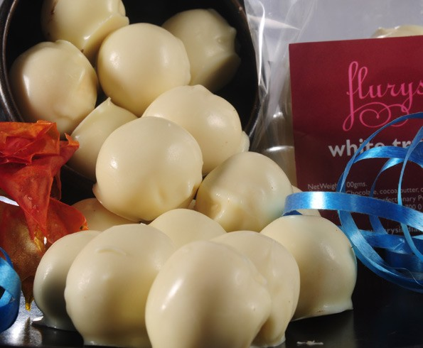 Chocolate White Truffle Pouch