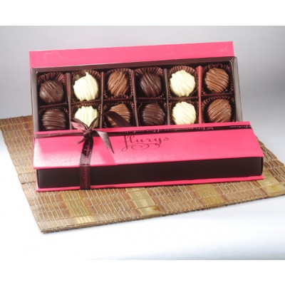 Exotic Chocolate Truffle Box - big