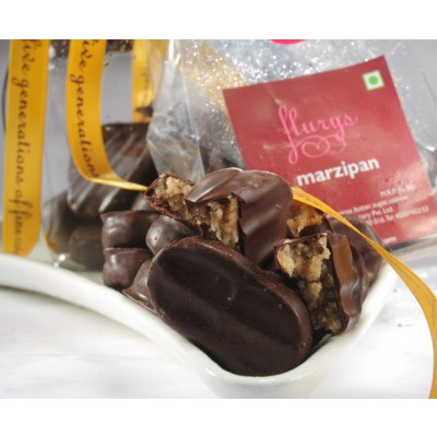Chocolate Marzipan Pouch