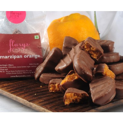 Chocolate Orange Marzipan Pouch