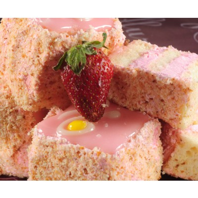 Flurys Strawberry Cube Pastry